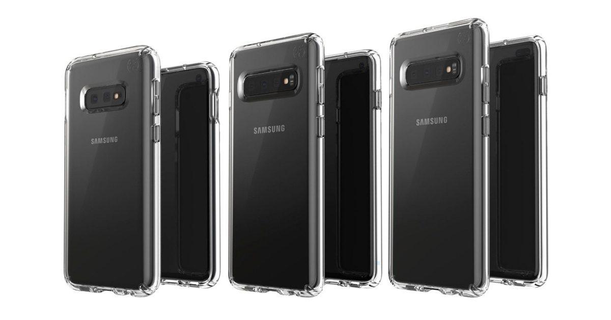 三星 Galaxy S10 系列產品圖片曝光,越高階鏡頭越多!