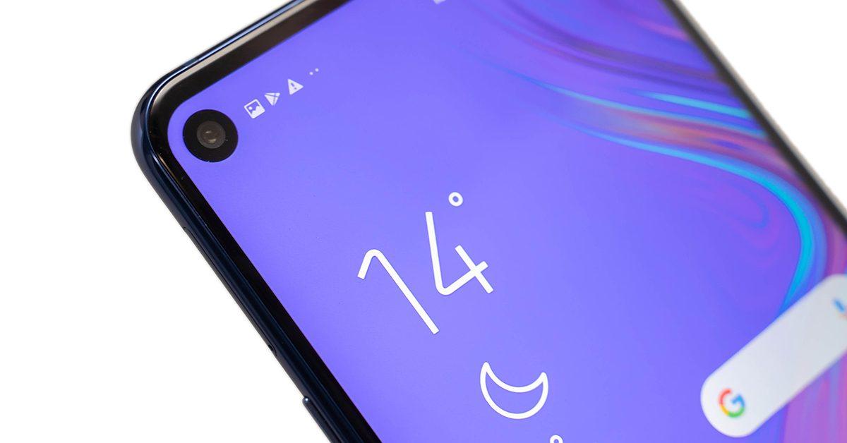 O 極限螢幕初體驗!三星 Galaxy A8s 全螢幕顯示、效能、相機動手測