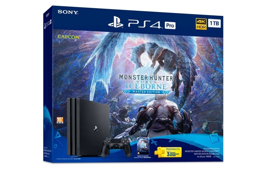SIE推出《魔物獵人 世界 Iceborne Master Edition》遊戲主機同捆組