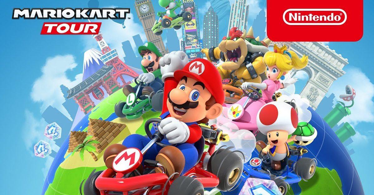 任天堂手遊《Mario Kart Tour》(瑪利歐賽車巡迴賽)即起上線,Android、iOS 雙平台都能玩