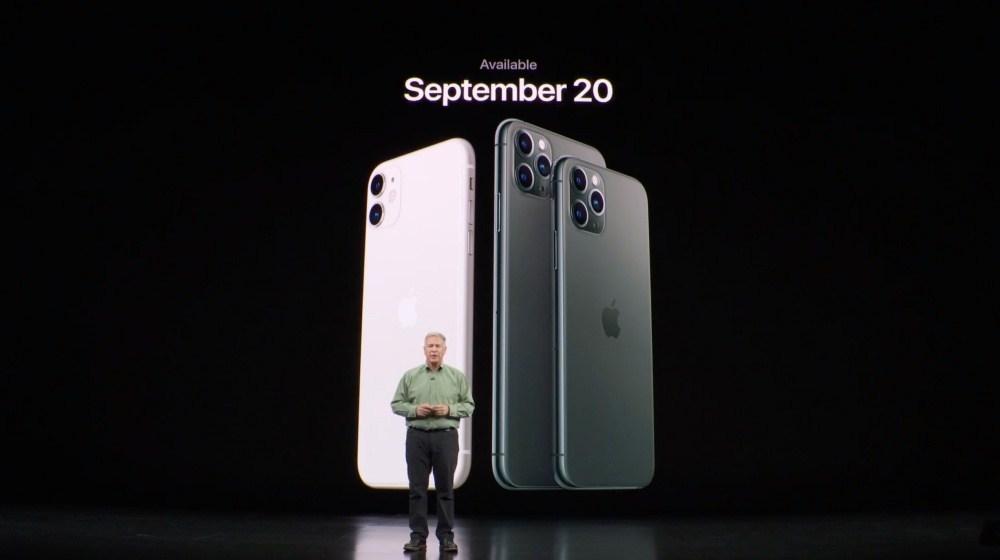 電信業者資料顯示iPhone 11搭載4GB記憶體,Pro系列機種採6GB規格