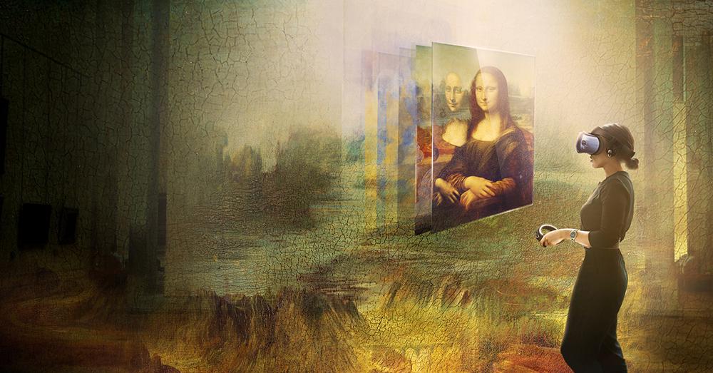 羅浮宮攜手 HTC 打造蒙娜麗莎虛擬實境體驗,10/24 起正式對外展出