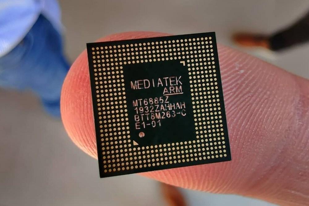聯發科首款整合5G網路功能處理器MT6885,現身競爭對手總部所在地