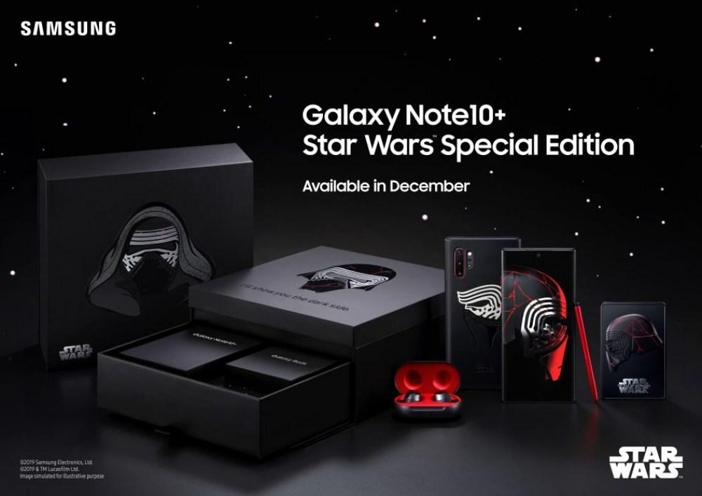 以「凱羅 忍」形象設計,三星推出限量特別款Galaxy Note 10+ Star Wars Special Edition