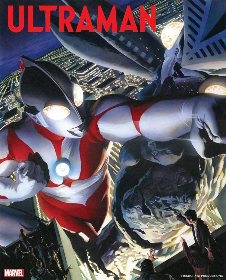 漫威確定與圓谷製作合作打造全新《超人力霸王》系列作品