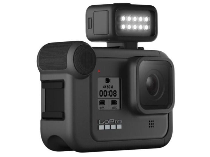 GoPro推出支援HERO8 Black與一般相機使用的Light Mod配件!