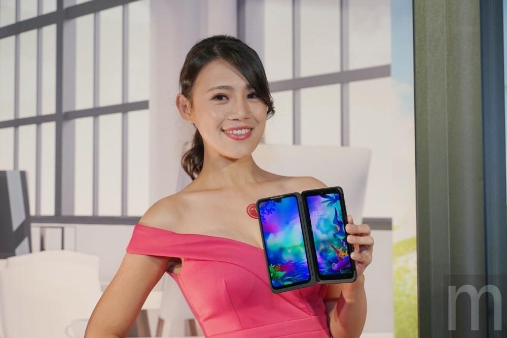 LG G8X ThinQ在台上市,藉由可拆換雙螢幕配件增加多工使用體驗