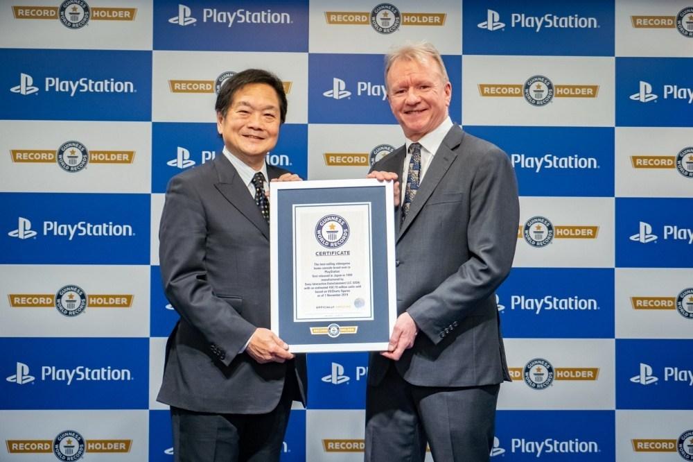 PlayStation系列機種累積銷售數量創金氏世界記錄,公布25週年遊戲獎項