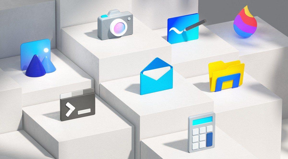 微軟釋出Windows 10升級包:內建Apps Logo採新設計,如信箱,錄音筆,鬧鐘等!