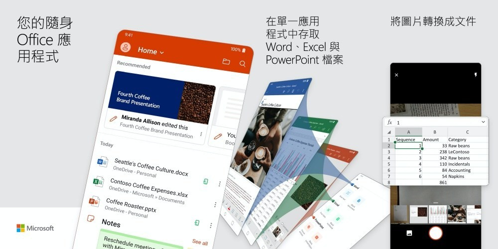 微軟整合所有Office應用服務app進駐Android平台!