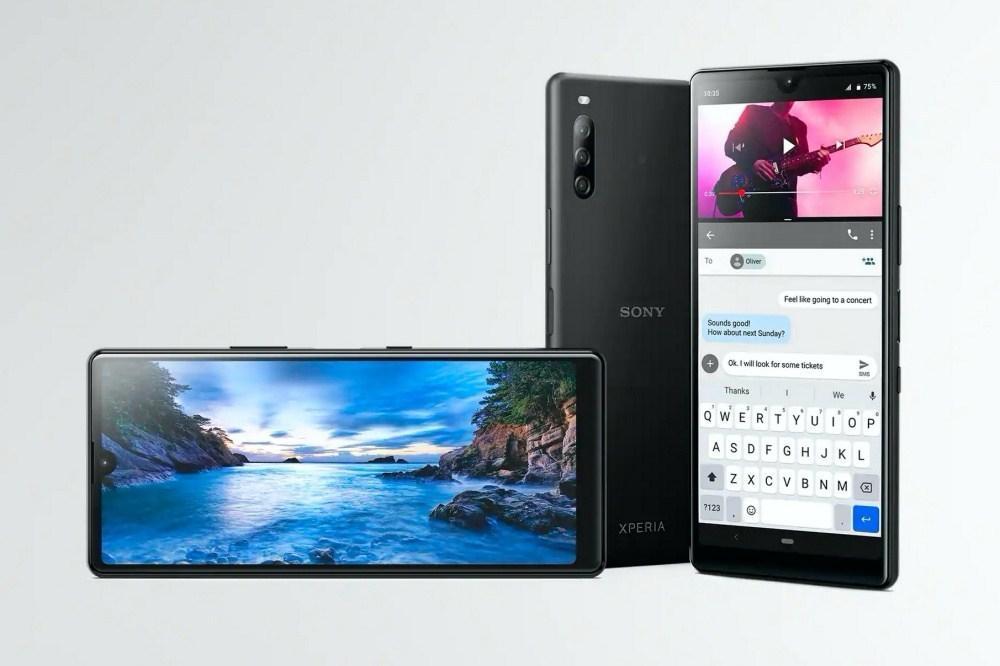 Sony揭曉入門新機Xperia L4,終於換上瀏海造型螢幕、超廣角鏡頭不會再拍到手!