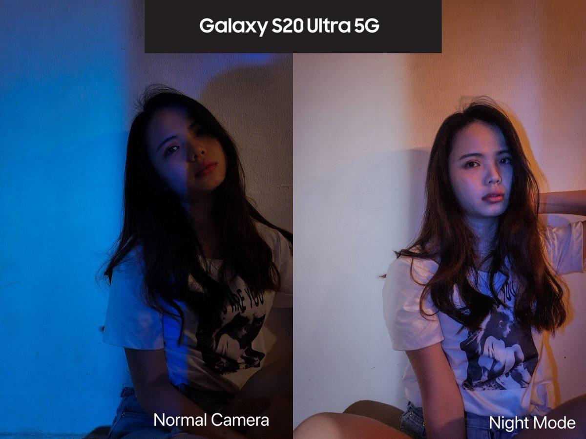 照亮你的夜晚!Samsung Galaxy S20 Ultra自帶Bright Night模式、像素9合1技術低光源也能拍出大片感!