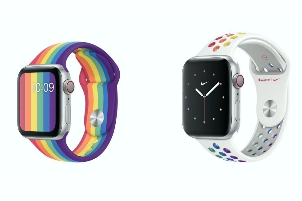 6月彩虹驕傲月!呼應每年同志遊行活動,蘋果首度一次更新兩款彩虹錶帶!