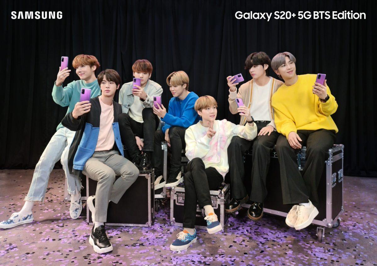 三星正式發表 Galaxy S20+ 5G 及 Galaxy Buds+ BTS Edition,6/19 預購開跑、7/9 台灣開賣!