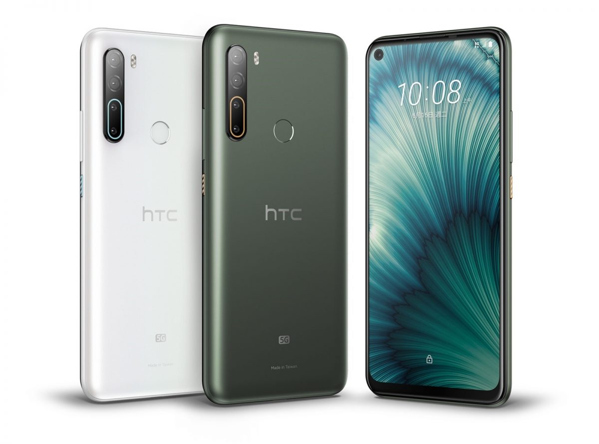 HTC 發表台灣首款 5G 智慧手機 HTC U20 5G,採用高通 S765G 處理器;還有 HTC Desire 20 pro!