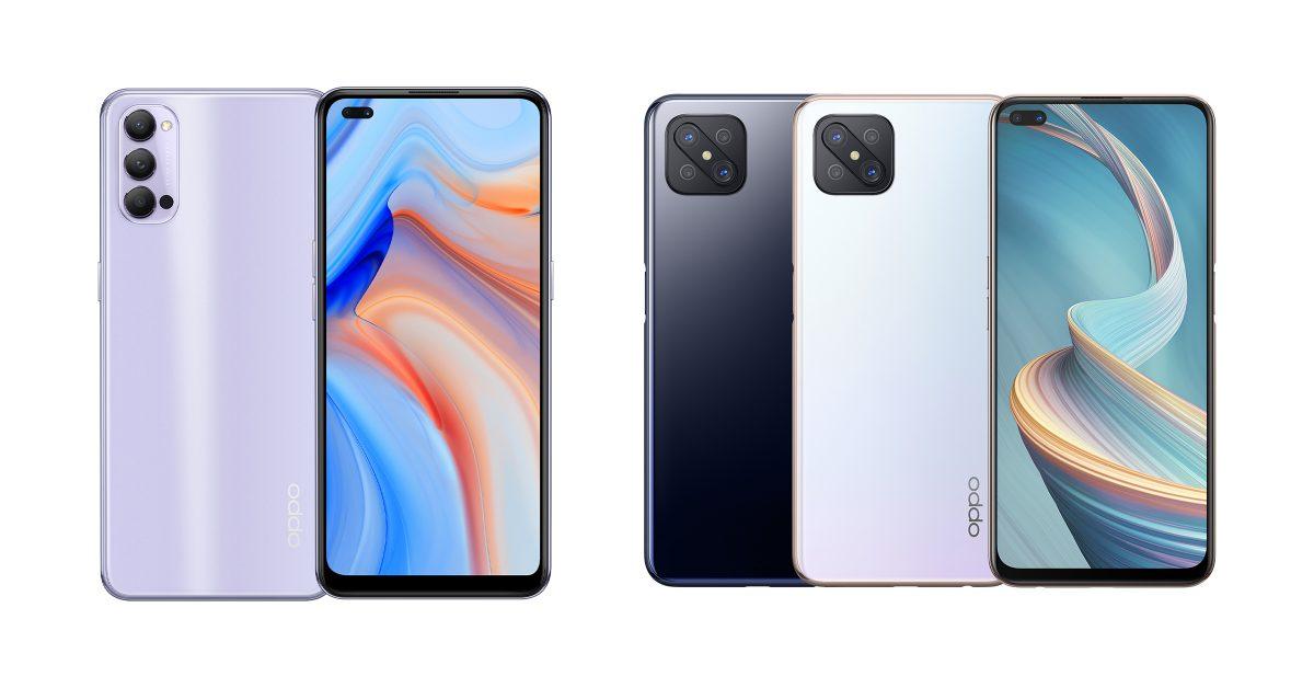 OPPO 宣布推出相對平價的 5G 手機 Reno4 Z,同步登場的還有 Reno4 新色香芋紫!