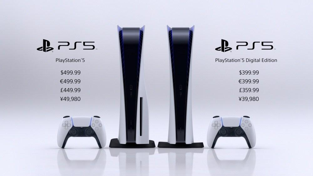 PlayStation 5將在11/12率先開放北美在內7個市場銷售,399.99美元起跳!