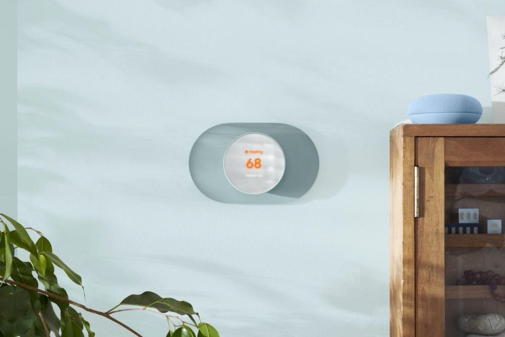 Google推出新款溫控設備Nest Thermostat,搭載Soli雷達技術