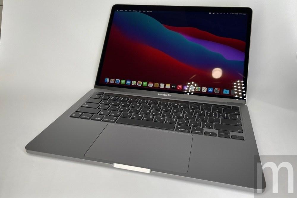 開箱換上M1處理器的13.3吋MacBook Pro,目前似乎就差個不間斷連網設計?