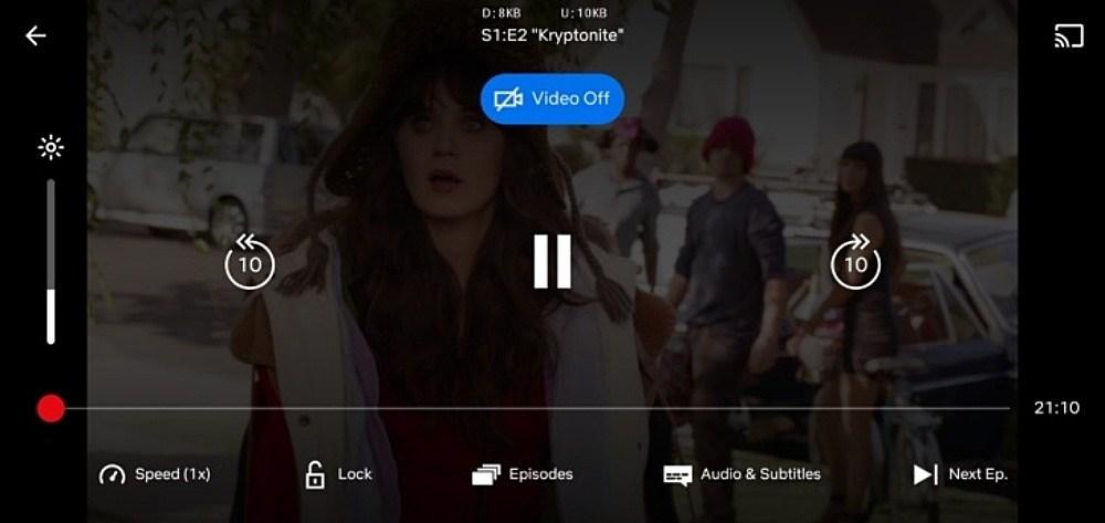 一秒變Podcast使用模式,Netflix在Android版本新增僅以聲音播放選項!
