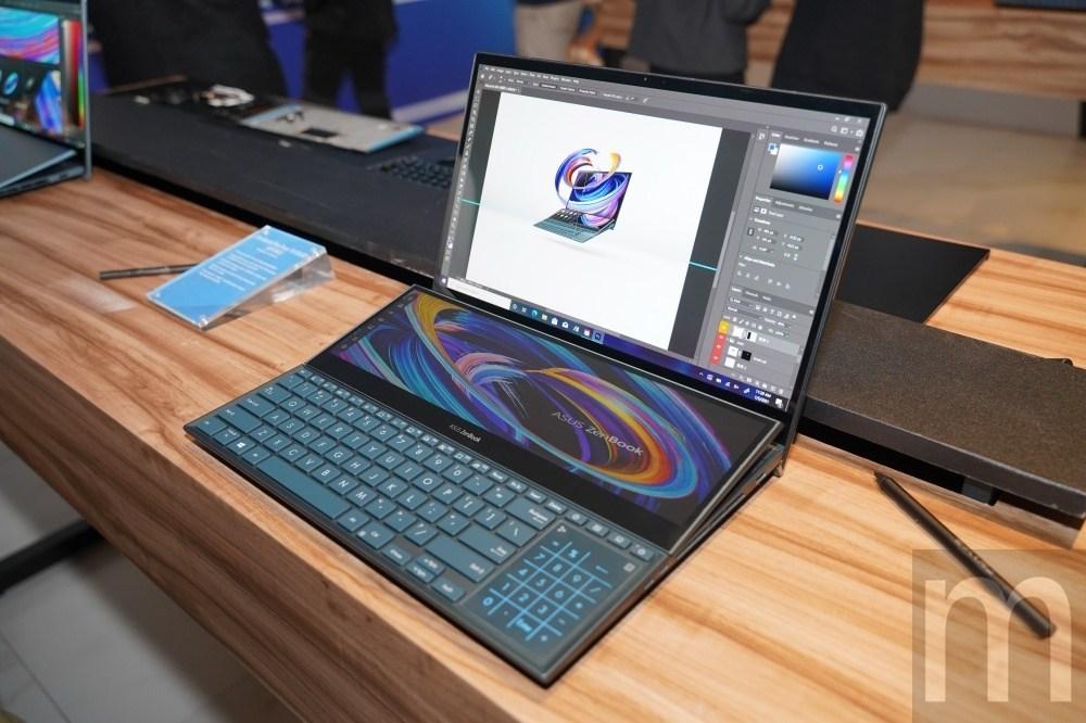 ZenBook Duo 14、ZenBook Pro Duo 15 OLED更新,第二螢幕更方便使用!