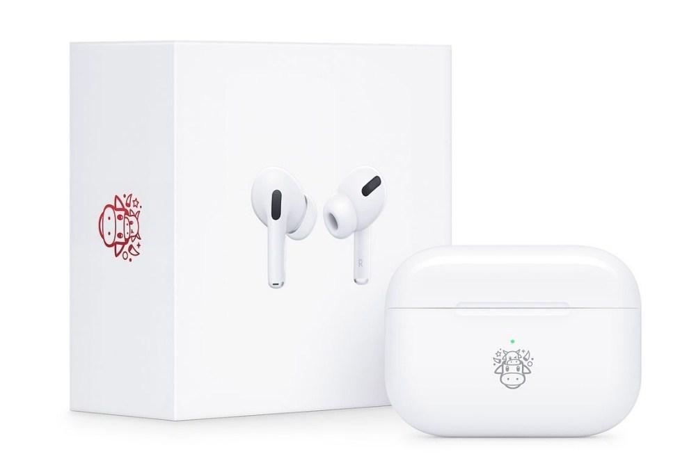 Apple 迎接農曆新年!AirPods Pro推出牛年限量款!