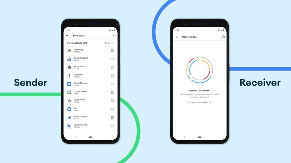 挑戰蘋果AirDrop功能!Google在Nearby Share加入臨時模式及同時傳檔多人!