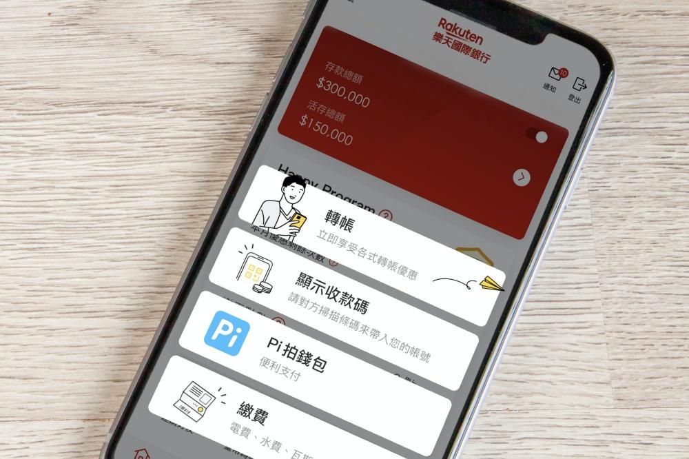 樂天國際銀行攜手PChome Pi拍錢包,擴展在地化行動支付服務!